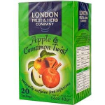 London Fruit and Herb filteres alma-fahéjtea 20db