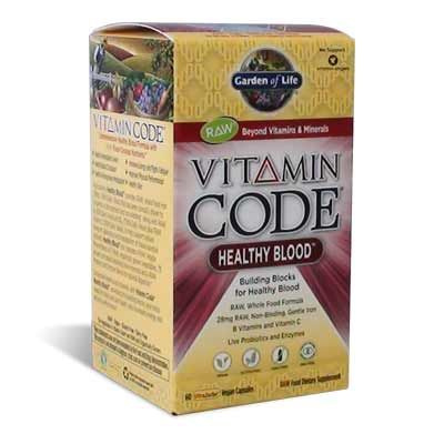 Garden Of Life Vitamin Code Healthy Blood Kapszula 60db Eg Szs Gpl Za Budapest