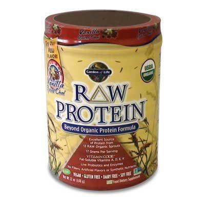 Garden Of Life Raw Organic Protein Vanilla Chai Por 630g Eg Szs Gpl Za Budapest